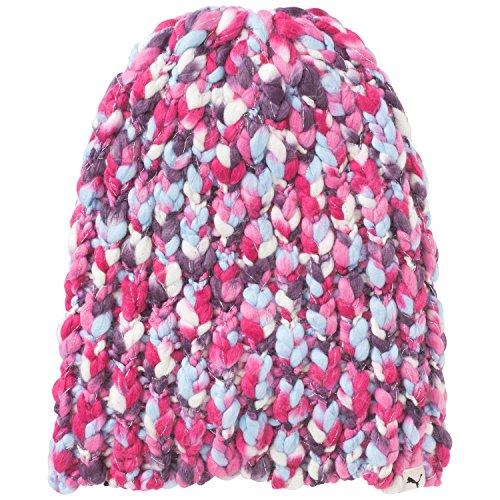 Puma-Berretto da donna Colour Knit Beanie, Donna, Mütze Womens Colour