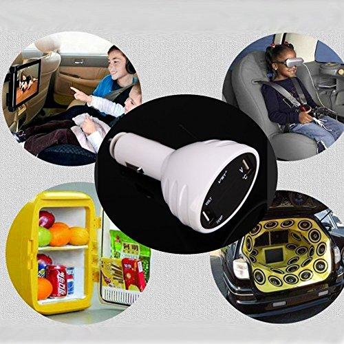 Demiawaking-Termometro-3-in-1-Digital-voltmetro-a-LED-USB-caricabatteria-da-auto-per-batteria