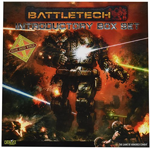 Catalyst Game Labs 3500BCAT - Brettspiele, Battletech 25th Anniv Intro Box Set 2nd