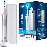 Oral-B PRO 3 3500 Elektrische tandenborstel/elektrische tandenborstel, met visuele 360° drukcontrole voor tandverzorging, rei