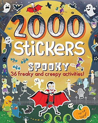 2000 Stickers Spooky por Parragon Books Ltd