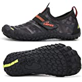 UBFEN Water Shoes for Kids Boys Girls Aqua Socks Barefoot Beach Sports Swim Pool Quick Dry Lightweight Athletic Sneakers