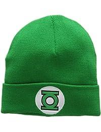 Bonnet en laine La Lanterne verte Logo - Bonnet DC Comics - Green Lantern Logo - Super-héros - avec logo brodé - vert - Design original sous licence - LOGOSHIRT