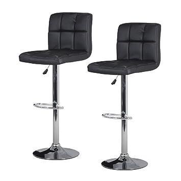 faux leather bar stool breakfast swivel bar stools barstools kitchen black amazoncouk kitchen u0026 home