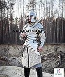 Nautisches Mart LARP Armour Mittelalter Renaissance Elfen funktionelle Armor Hälfte Body Armour tragbar Kostüm