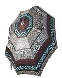 Paraguas Pierre Cardin Estampado Animal Print (Marrón)