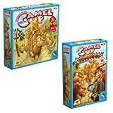 Pegasus Spiele 54541G - Camel Up - Spiel des Jahres 2014 + Pegasus Spiele 54546G - Camel Up: Supercup, Brettspiele