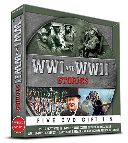 WWI & WWII Stories Gift Tin [DVD]