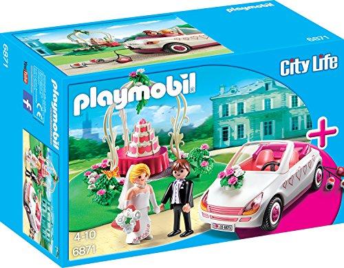 Playmobil 6871 - StarterSet Hochzeit - Cabrio Herz