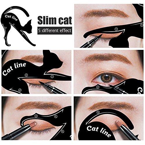 Modelo de Cat Eyeliner 10 Styles para el Blissany
