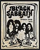 Black Sabbath Band Official Patch (8cm x 10cm)