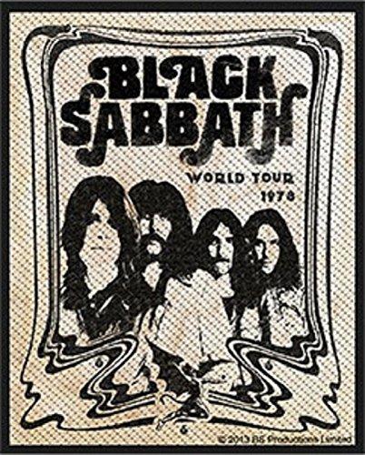 Preisvergleich Produktbild Black Sabbath Band Official Patch (8cm x 10cm)