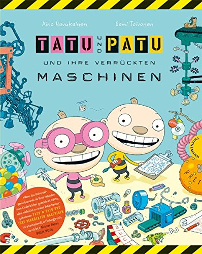 Tatu & Patu 1: Tatu & Patu und ihre verrückten Maschinen (Jungen-maschine)