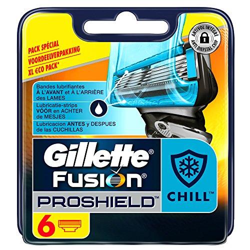 Gillette Fusion Proshield Chill Rasierklingen für Herren