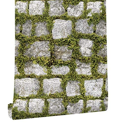 HaokHome 372701 Papel Pintado Piedra Imitación Realista