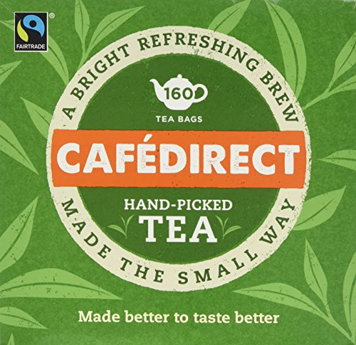 Cafédirect Fairtrade Everyday Tea 160s (Pack of 2, Total 320)