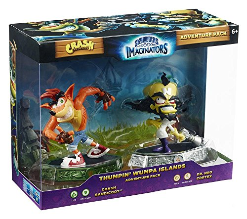 Compare Skylanders Imaginators - Adventure Pack - Crash and Neo Cortex (Xbox One/PS4/Nintendo Wii U/Xbox 360/PS3) prices