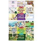 #10: Melissa and Doug Reusable Sticker Pad Bundle (Pack of 2)