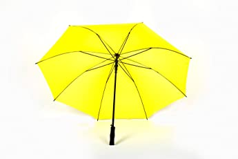 Shroff's Anchor Large Yellow Golf Umbrella with Fibre Body