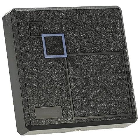 KKmoon RFID 125kHz Proximité EM Smart ID Card Reader Wiegand 26/34 pour Système de Contrôle d'accès Porte Entrée