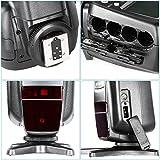 Neewer® NW-565 EXC E-TTL-Slave Speedlite Flash Blitzgerät Blitzlicht mit Blitz-Diffusor für Canon 5D II 7D, 30D, 40D, 50D, EOS 300D / EOS Digital Rebel, EOS 350D / EOS Kiss Digital-N, EOS 400D / Digital Rebel Xti, EOS 1000D / EOS Rebel XS, EOS 500D / Digital Rebel T1i, EOS 550D / Digital Rebel T2i, EOS 600D / EOS Rebel T3i, EOS 700D / EOS Rebel T5i, EOS 100D / EOS Rebel SL1, EOS 1100D / EOS Rebel T3 und alle anderen Canon Modelle - 7