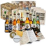 """""""CERVEZA ALEMANA"""" Original caja-regalo para el hombre con las 9 mejores birras de Alemania. El mejor detalle para un padre, hermano, amigo, esposo o abuelo."""