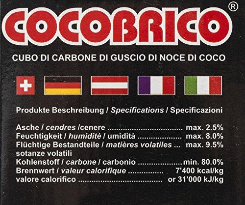 COCOBRICO 1 Kg (Shisha Kohle)