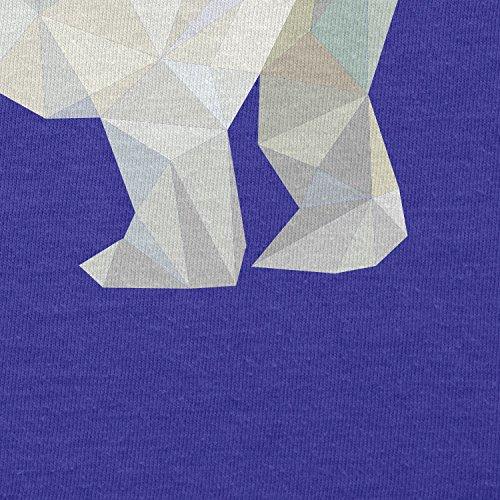 TEXLAB - Poly Polar Bear - Herren T-Shirt Marine