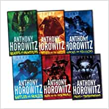 Anthony Horowitz Legends 6 Books Collection Pack Set Rrp