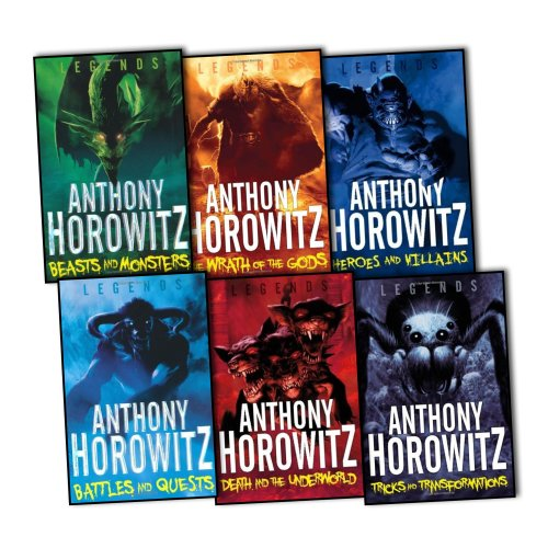 ANTHONY HOROWITZ Legends 6 Books Collection Pack Set RRP: 31.94 (Death & the...