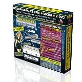 Pack Karaoké KPM Mixeur + 2 DVD* + Micro - Méga Tubes 3