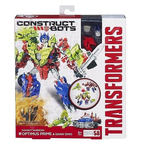 TRANSFORMERS    CONSTRUCT BOTS DINOBOT WARRIORS OPTIMUS PRIME  (HASBRO A9871E24)
