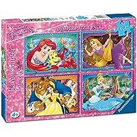 Princesas Disney - Bumper Pack, puzzles 4 x 42 piezas (Ravensburger 06857)
