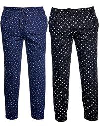 VIMAL JONNEY Men's Cotton Blended Trackpants (Pack of 2)