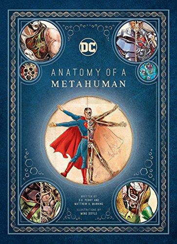 Dc Comics. Anatomy Of A Metahuman por S. D. Perry