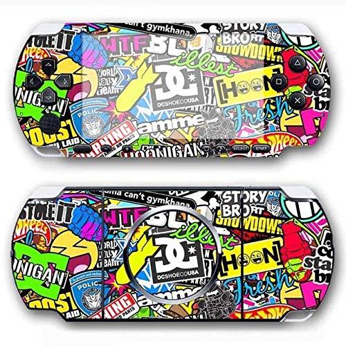 Skin Sticker - Bomb Vinyl Skin Sticker Schutzfolie für Sony PSP 3000 Skins für PS4 Slim Skin, PS4 Pro Skin, PS4 Skin Sticker A767