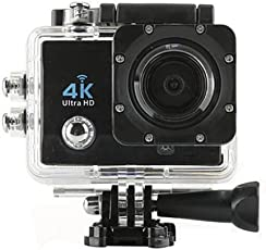 Captcha® Ultra Hd WiFi Sports Action Water Proof Camera for Under Water Recording for Google Pixel 2 & Redmi Note 4 Mobile