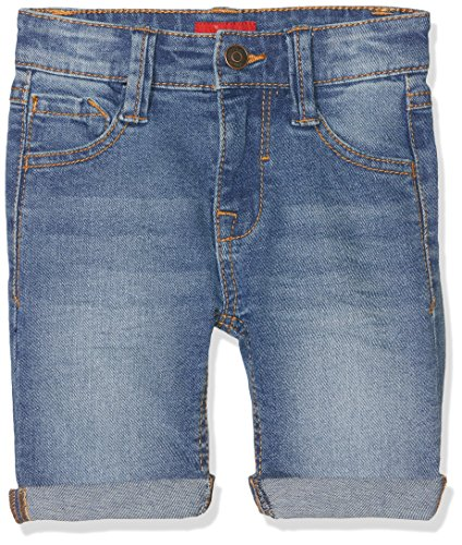 s.Oliver Jungen Shorts 64.803.72.5292, Blau (Blue Denim Stretch 54Z4), 122 (Herstellergröße: 122/SLIM) (Short Boys)