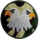 Parches - águila militar Army animal - colorido - Ø7,5cm - termoadhesivos bordados aplique para ropa
