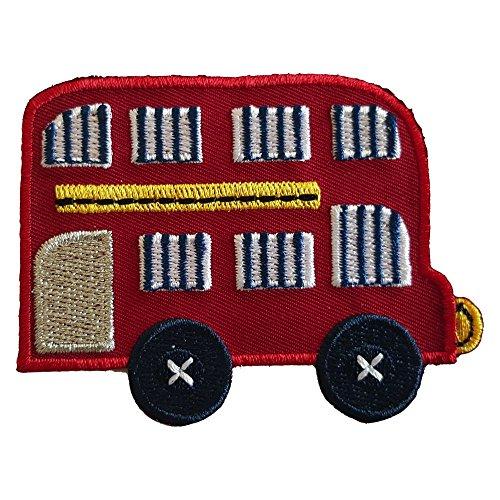2-ecussons-patch-appliques-autobus-a-imperiale-8x6cm-ancre-5x5cm-thermocollant-brode-broderie-pour-v