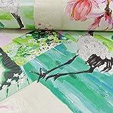 Rasch Oriental diseño de flores papel pintado Japón diseño de pájaros en relieve 870107