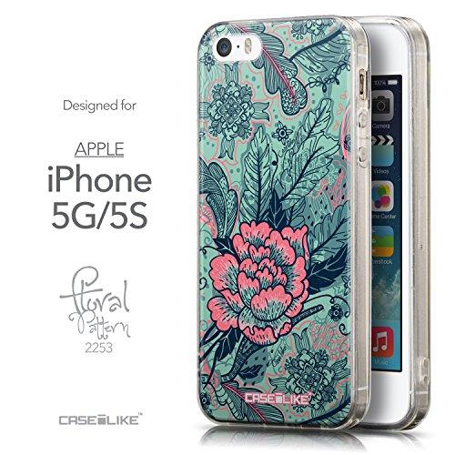 CASEiLIKE Comic Beschriftung 2914 Ultra Slim Back Hart Plastik Stoßstange Hülle Cover for Apple iPhone 5G / 5S +Folie Displayschutzfolie +Eingabestift Touchstift (Zufällige Farbe) 2253