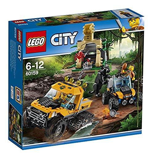 Mission-kette (LEGO City 60159 - Mission mit dem Dschungel-Halbkettenfahrzeug)