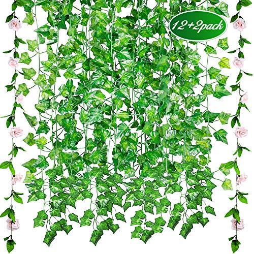 12pcs*2.1m Plantas Colgantes Artificiales