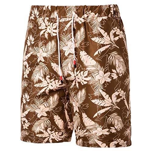 Pantalones Cortos De Natacion Shorts Hombres Verano