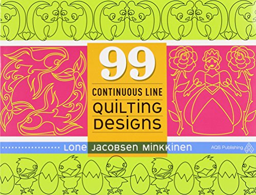 99 Continuous Line Quilting Designs -