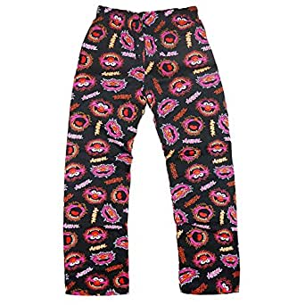 The Muppets Animal Official Gift Boys Lounge Pants Pyjama Bottoms Black 7-8 Yrs