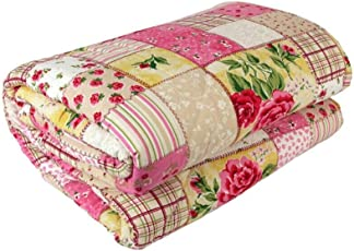 Standard Multicolour Printed AC Comforter, AC Quilt   Blanket (Double Bed)