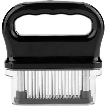 Fleischzartmacher 56 Edelstahlklingen Fleisch Nadel BPA frei Steak Kochwerkzeug