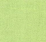 0,20x1,40m Zählstoff 'Lugana' - Farbe: 6140 - hellgrün